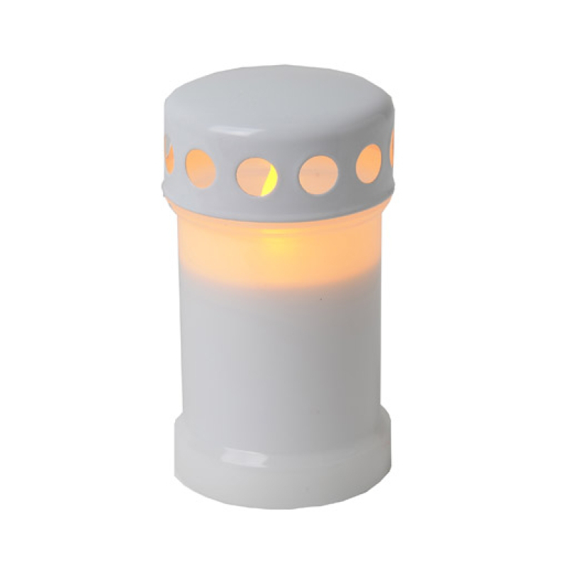 gravljus med batteri skymningssensor
