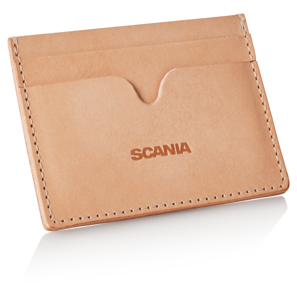 Finland Scania Webshop - Leather Card Holder 95362bba2e