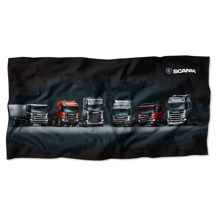 Finland Scania Webshop - Beach Towel New Truck Generation 4829bb1ad8