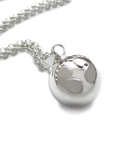 bola gravidsmycke äkta silver