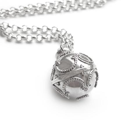gravidsmycke äkta silver
