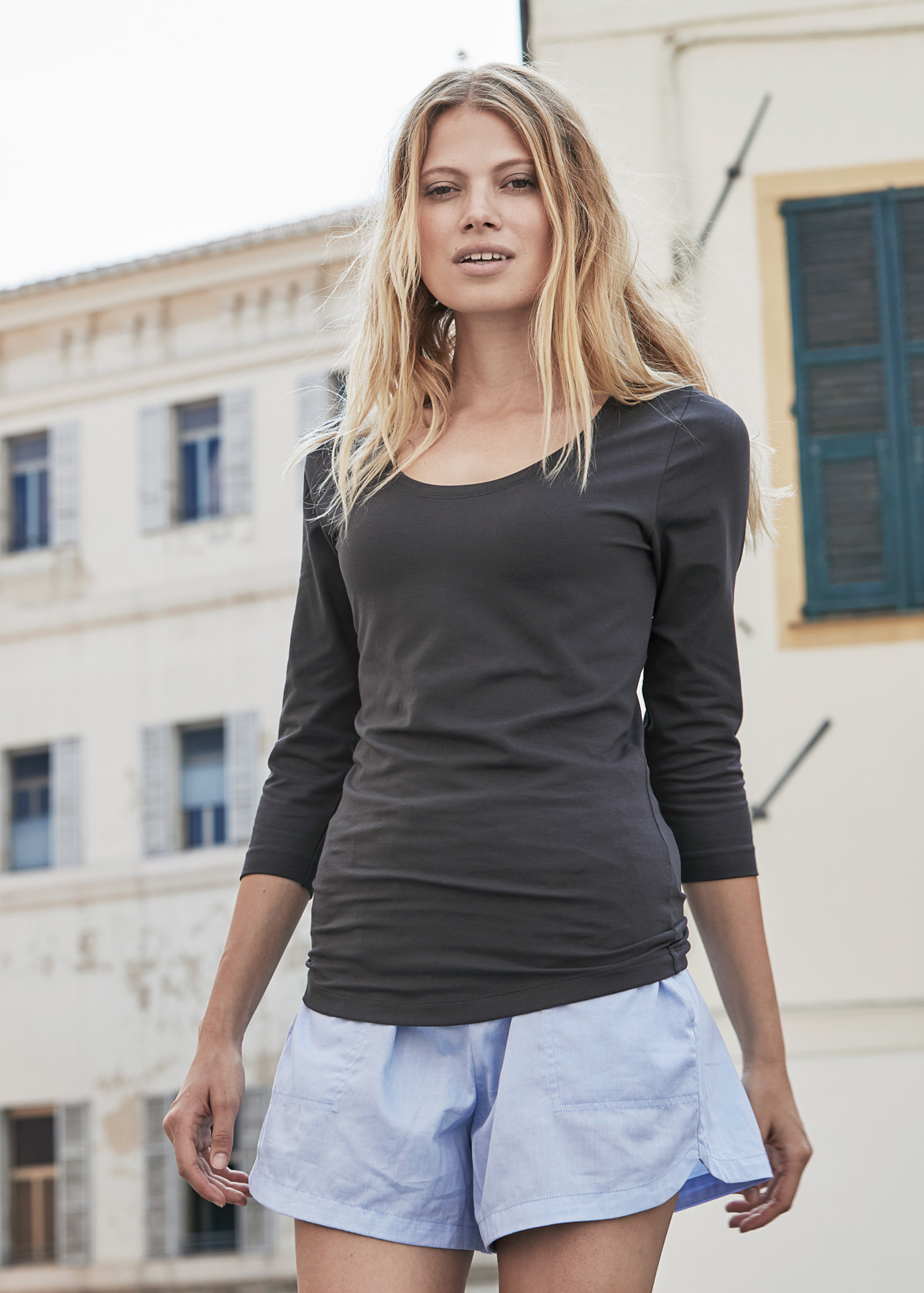 ef2f709e9c8 A M Textile Solutions - Tee Jays Ladies 3 4 Sleeve Stretch Top