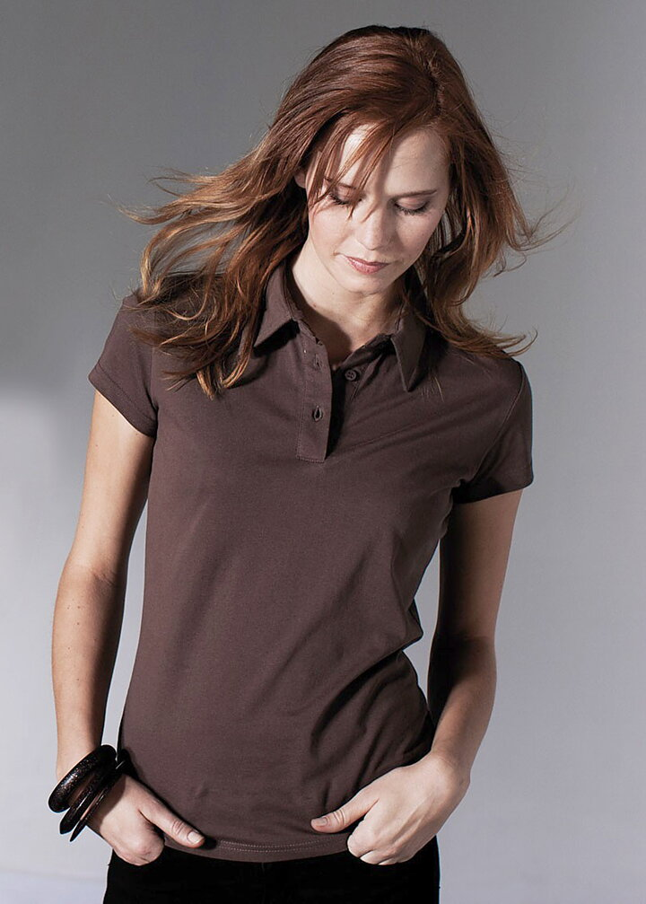 351f2934f263 A M Textile Solutions - Kariban Ladies Jersey Polo