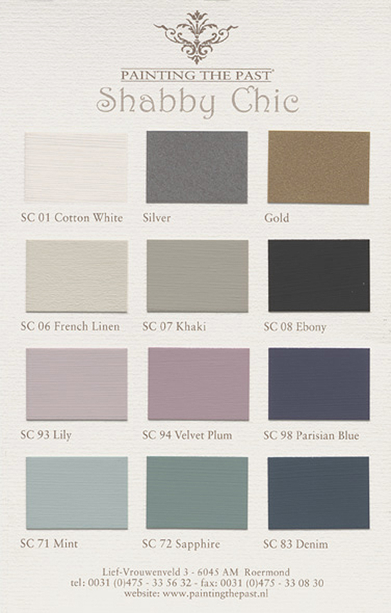Packhus Studio Ab All Color Chart