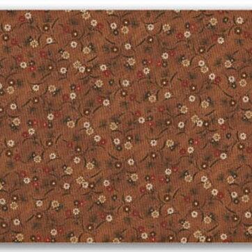 Brun botten beige och röda blommor 345c4e0aa56c2