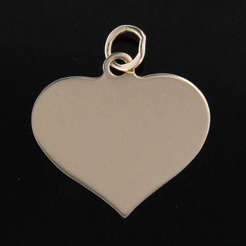 Gravyr smycke hjärta 18k - GULDKORNET 88a470b54c4c6