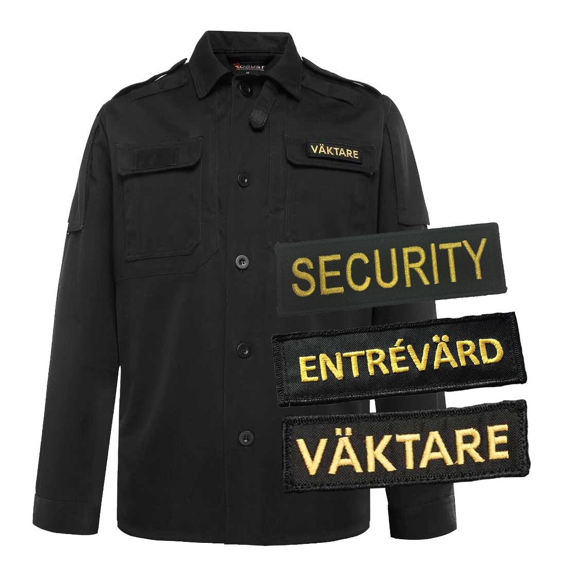 OVbutiken.se - Väktare   Entrévärd   Security Skjortjacka Svart 9edf71b7a1668