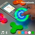 Spinner LED med högtalare och Bluetooth InnovaGoods Färg  Rosa 8ce4d494667fc