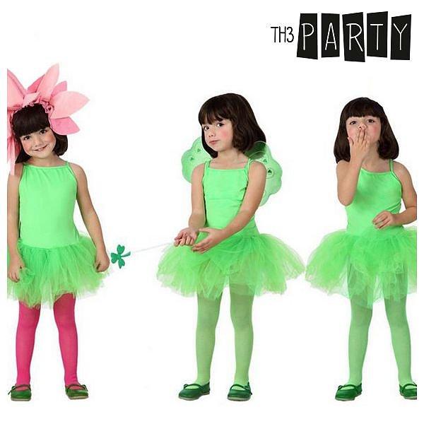 Maskeraddräkt för barn Th3 Party Ballerina Green Storlek  3-4 år ... 0e588c6311ce2