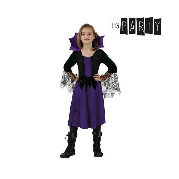 Maskeraddräkt för barn Th3 Party Häxa Storlek  3-4 år - Leksakskompaniet 29a4d386d1ad4