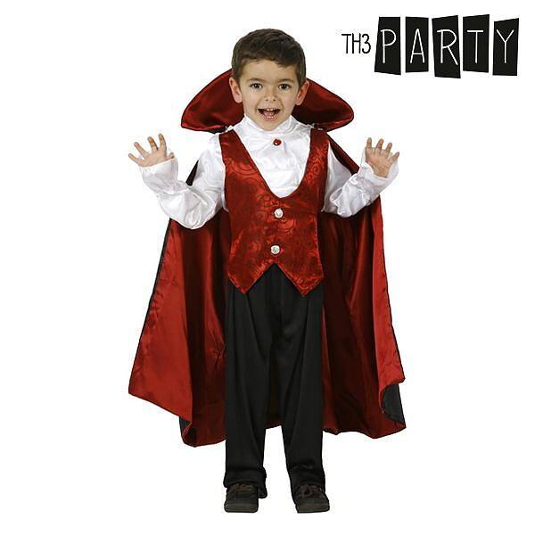 Maskeraddräkt för barn Th3 Party Vampyr Storlek  5-6 år ... 2b3c3b816a7f9