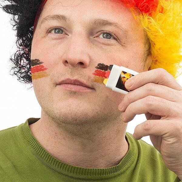 Tysk flagga ansiktsmålning - Leksakskompaniet c1f1a52ba8d2d