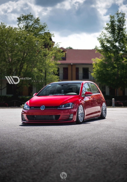 frontsplitter vw golf vii gti. Black Bedroom Furniture Sets. Home Design Ideas