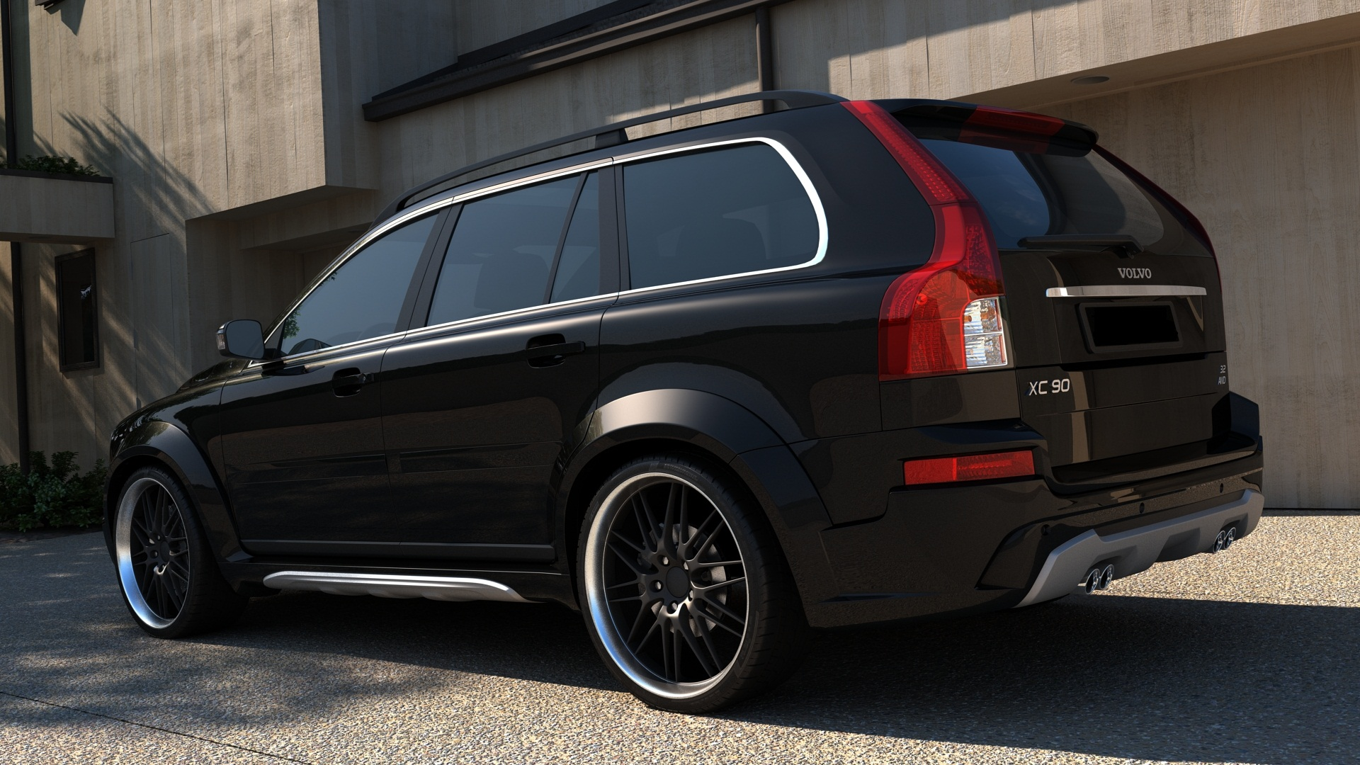 volvo xc90 bodykit blp bluepower. Black Bedroom Furniture Sets. Home Design Ideas