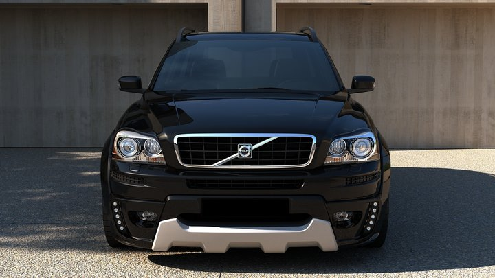 volvo xc90 bodykit blp. Black Bedroom Furniture Sets. Home Design Ideas