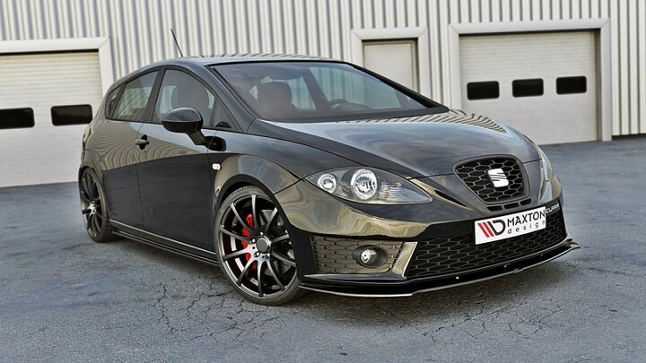 front splitter v 1 seat leon mk2 cupra fr facelift. Black Bedroom Furniture Sets. Home Design Ideas