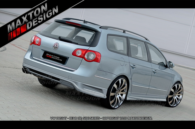 rear bumper extension vw passat b6 3c estate. Black Bedroom Furniture Sets. Home Design Ideas
