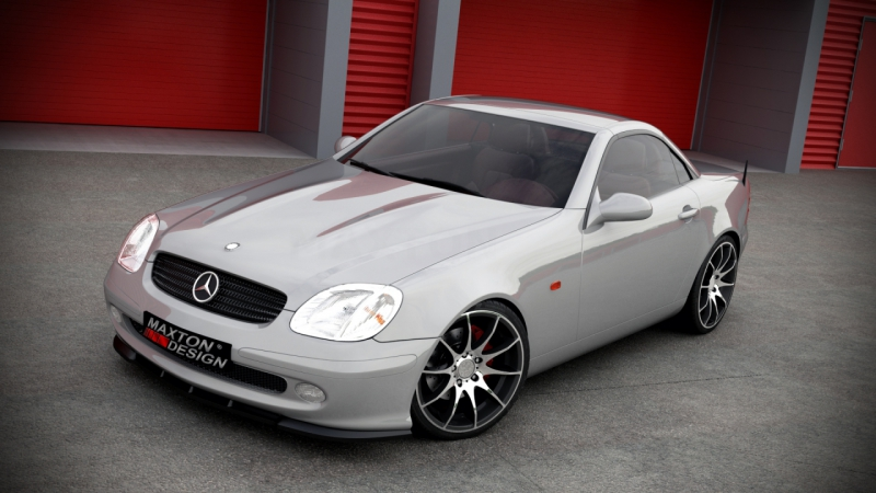 front splitter mercedes slk r170. Black Bedroom Furniture Sets. Home Design Ideas