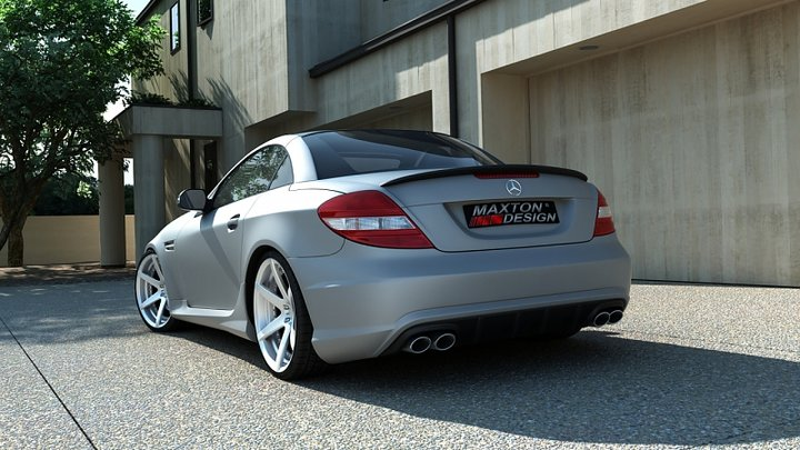 rear bumper mercedes slk r171 amg 204 look. Black Bedroom Furniture Sets. Home Design Ideas