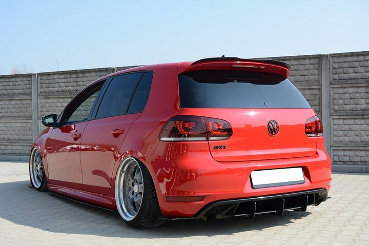 spoiler extension vw golf mk6 gti bluepower. Black Bedroom Furniture Sets. Home Design Ideas