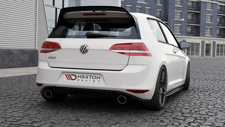 spoiler cap vw golf vii gti clubsport. Black Bedroom Furniture Sets. Home Design Ideas