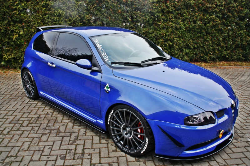 side skirts diffusers alfa romeo 147 gta bluepower. Black Bedroom Furniture Sets. Home Design Ideas
