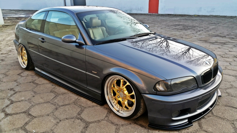 sidoextensions bmw 3 e46 m paket coupe bluepower. Black Bedroom Furniture Sets. Home Design Ideas
