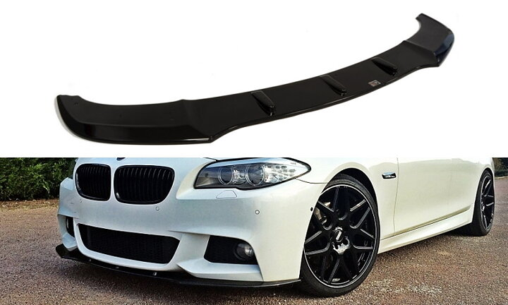front splitter bmw 5 f10 m pack f11. Black Bedroom Furniture Sets. Home Design Ideas
