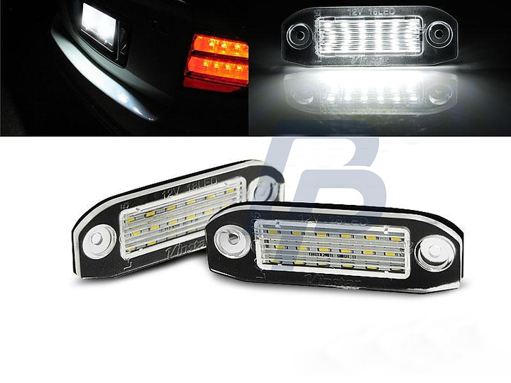 License Led Lights Volvo C30    S40    V50    S60    V70    S80