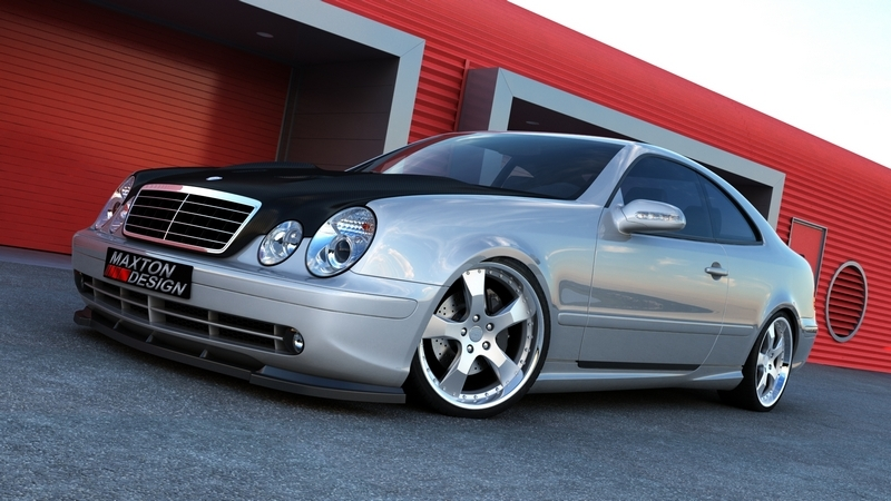 side skirts mercedes clk w208 amg look. Black Bedroom Furniture Sets. Home Design Ideas