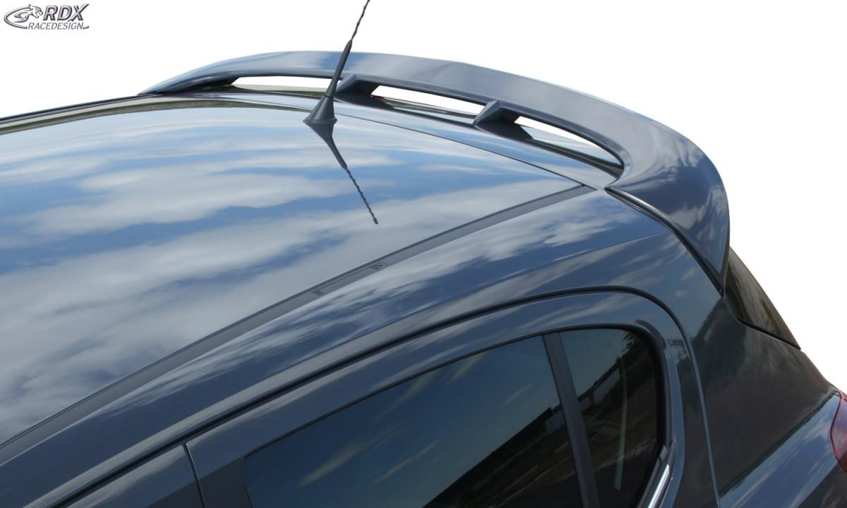 3 doors Roof spoiler PUR Plastic Vauxhall Corsa E