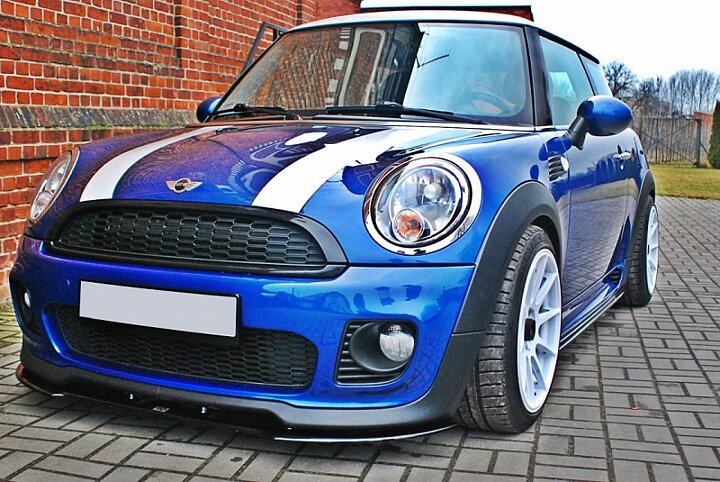 front splitter mini cooper r56 jcw. Black Bedroom Furniture Sets. Home Design Ideas
