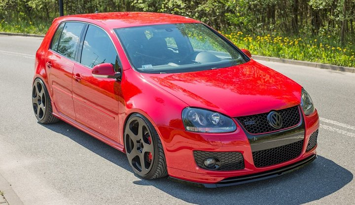 front splitter vw golf v gti for gti 30th front bumper. Black Bedroom Furniture Sets. Home Design Ideas