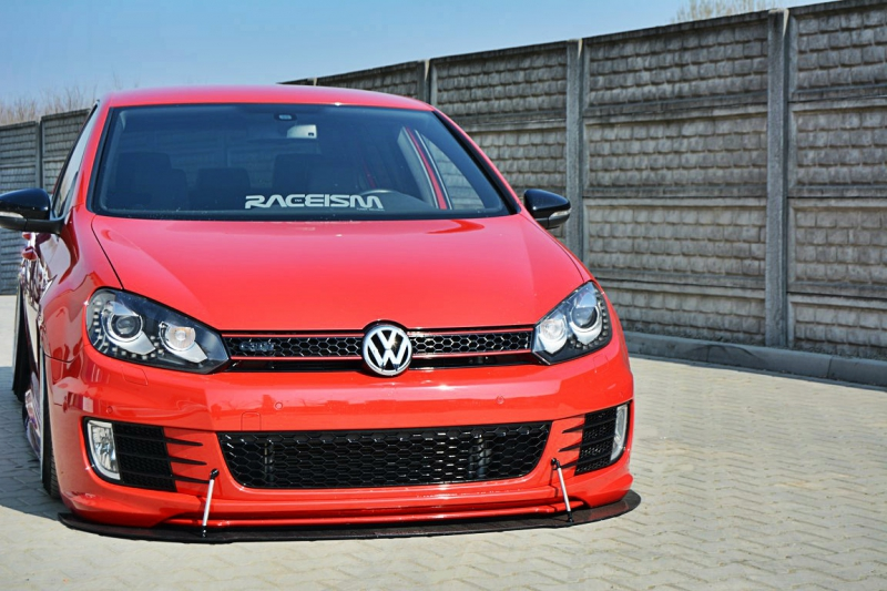 front racing splitter vw golf mk6 gti 35th. Black Bedroom Furniture Sets. Home Design Ideas