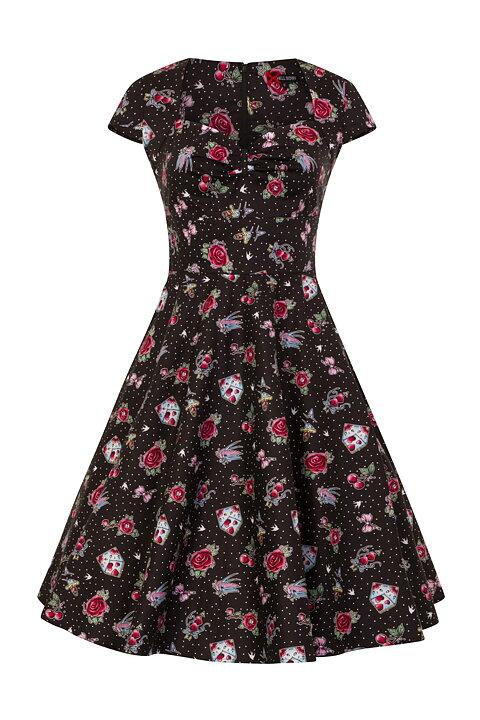 2a3b5dcfc Johannas Rockabilly & Vintage AB - Hell Bunny - Black Stevie 50's Dress