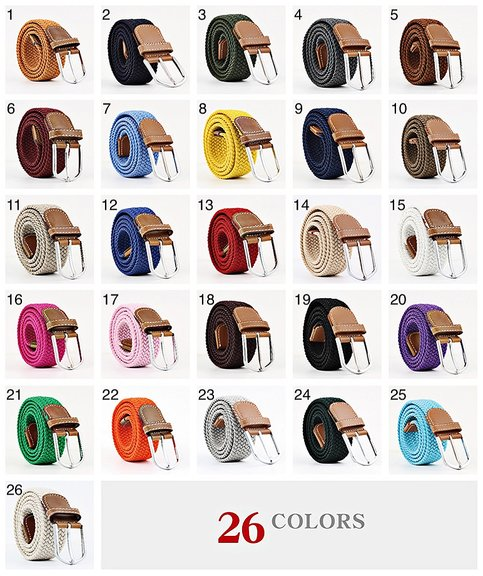 DITE RETAILER AB - Bälte canvas 26 färger storlek W26 - W36 stretch ... a46460bd35d9c