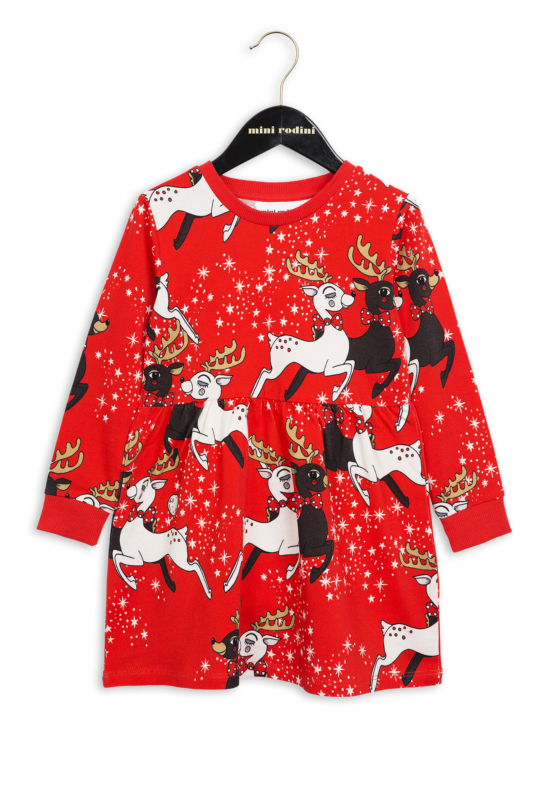 Mini rodini deer dress