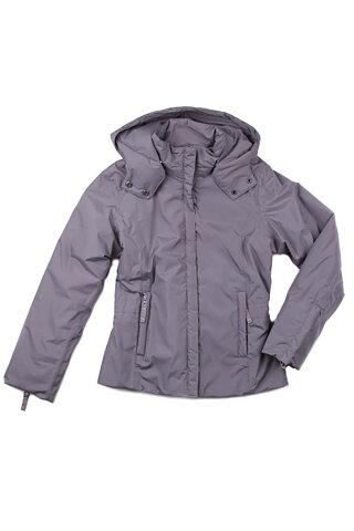 6a03c5b8 Ver de Terre: Light grey jacket with bow