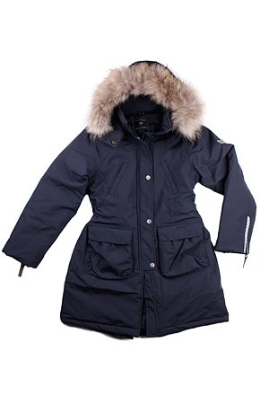 bcdbd294 Ver de Terre: Eskimo Girl Down Coat, navy