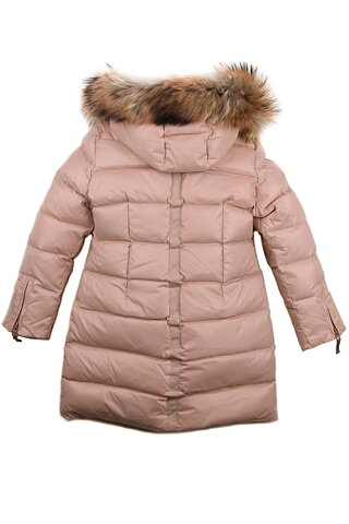 51ce24c8 Ver de Terre: Girls Down Coat, Mahogany rose