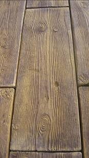 Gjutform dubbla träplankor 60cm
