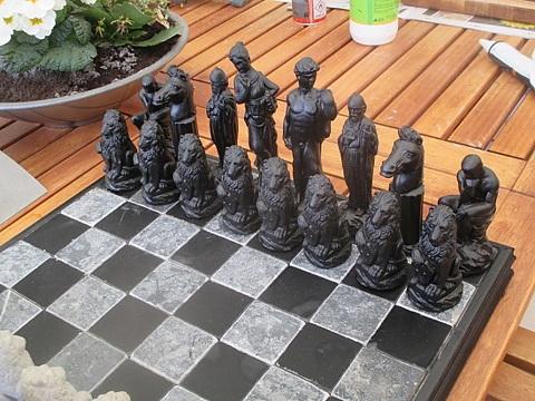 Latexformar schack klassisk 9 st