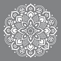 Schablon Mandala