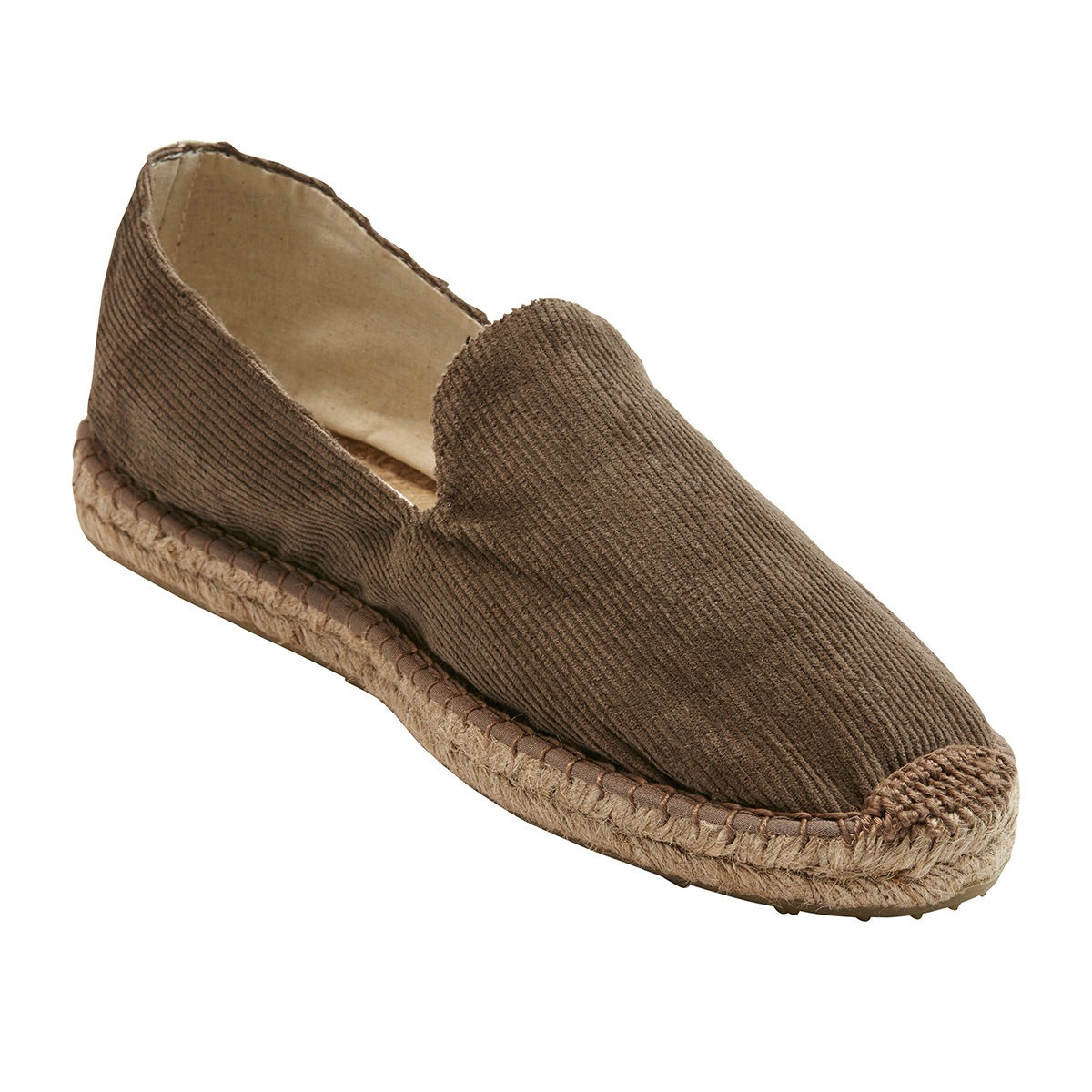 OAS Brown Cord Slipper Espadrilles