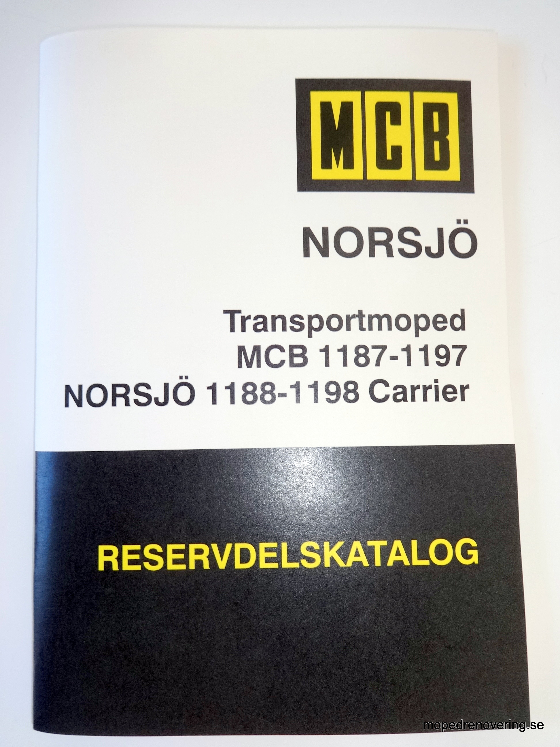 Parts Catalog Mcb 1187 1197 And 1188 1198 Norsj Carrier Sachs Moped Wiring Diagram