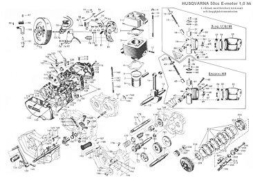 Locking disc 3 speed manual transmission, the Flinta