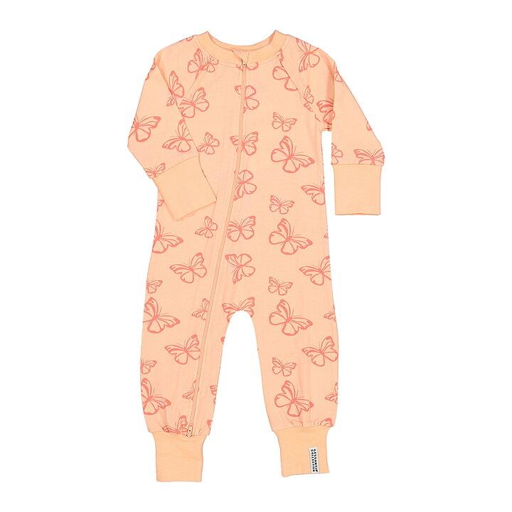 Geggamoja Pyjama Butterfly Light Pink - FreshMilk Children s Clothing 489873b2457ba