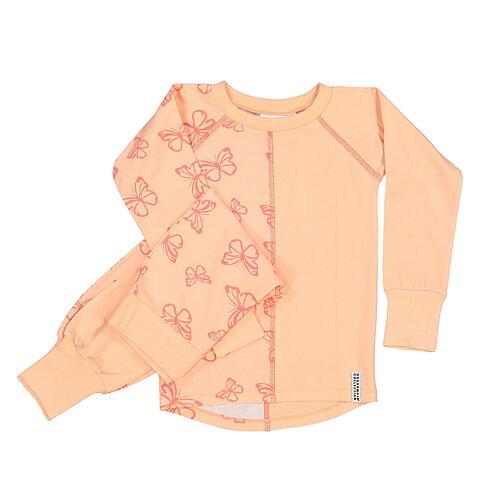 Geggamoja Pyjamas 2-delar Butterfly Ljusrosa 1f6f4ed796ac1