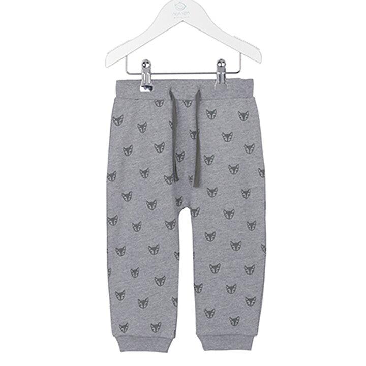 00a3c897c51 Noa Noa Pants Fox Grey Melange - FreshMilk Children's Clothing