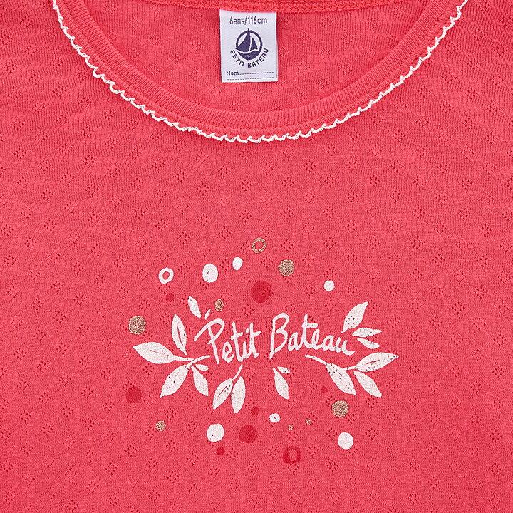 Petit Bateau Pyjamas Långärmad 2-delar Rosa   Vit - FreshMilk ... 68d5202f7e92e